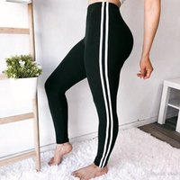 black female yoga pants al por mayor-2018 Pantalones de yoga Leggings deportivos negros Cintura alta Push Up Sexy Gym Running Workout Ropa deportiva Fitness Leggings para mujer DDK89
