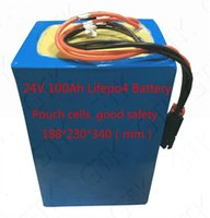 station base großhandel-Motor electrico 24v 100AH lifepo4 batterie 100ah batterie lithium 100ah 24V für 2500 Watt Motor energiespeicher Basisstation UPS RV