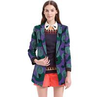 ingrosso giubbotto di vestiario-Vestiti africani blazer stampa donna dashiki indossare cappotto moda Ankara giacche moda su misura giacche lunghe