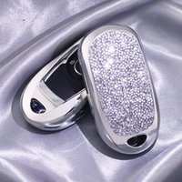 Wholesale new style car keys for sale - Group buy Car Styling Shiny Diamond Crystal Car Key Cover Case For OPEL Astra Encore Envision New Lacrosse GS T T Accessories
