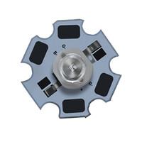 ingrosso bulbo ad alta potenza-Torcia Uv LED che cura luce nera perline 3w 5w ad alta potenza ultravioletta Ray 395nm uv ha condotto la lampadina perline all'ingrosso Made in China fornitore