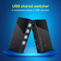 Wholesale sharing box for sale - Group buy USB Sharing Switch Port USB Peripheral Switcher Adapter Box Hub Share Device for Printer Scanner