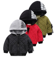 Wholesale model boys american for sale - New winter models Europe and the United States boutique children s clothing boys and children thickened cotton warm cotton padded cotto