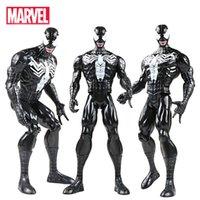 maravilha figuras de ação de super-heróis venda por atacado-30 centímetros Marvel Os Vingadores Endgame super-herói Homem-Aranha Venom Spider Man Action Figure Model Collection brinquedo para crianças Spiderman