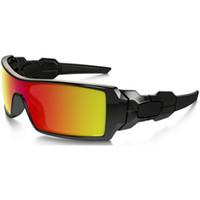 ingrosso occhiali stampati-Popolare stampati occhiali da sole per uomini e donne di sport esterno di vetro di Sun di Eyewear del progettista degli occhiali da sole Moda Uomo