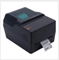 impressora digital de máquina camiseta venda por atacado-Impressora de transferência térmica adesiva térmica de impressora de código de barras térmica única