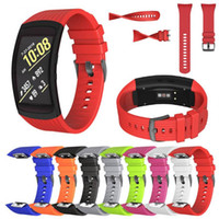 Wholesale gear fit watches for sale – best Silicone Watch band For Samsung Gear Fit2 Pro fitness Watch bands Wrist Strap For Samsung Gear Fit SM R360 Bracelet