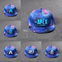 ingrosso giocattoli hip hop-Apex legends gioco tappi estate maglia moda outdoor berretto da baseball cappello hip hop cappelli da sole popolari per i bambini giocattoli