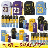 Wholesale ball online - Los Angeles Lakers LeBron Jerseys James Brandon Ingram Kobe Bryant Kyle Kuzma Lonzo Ball Jersey