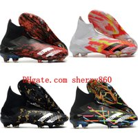Wholesale children soccer shoe resale online - 2020 top quality mens boys soccer shoes Predator Mutator FG women children football boots botas de futbol Archetic size