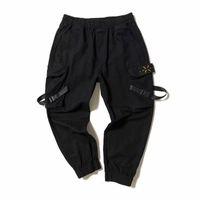 heiße mens ladung hosen großhandel-Mens-Sommer-heiße Verkaufs-Art- und Harem Cargo Pants lose Hip Hop Solid Color männlich Capris Kleidung