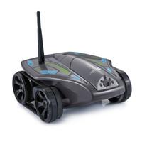 rc uzaktan video kamera toptan satış-WiFi RC Mini Tank Kamera ile Gerçek zamanlı Video Telefon Uzaktan Kumanda Oyuncak Araba Modeli Rc Oyuncak İyi Hediyeler beyaz siyah