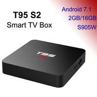 Wholesale android pc smart tv box online - 2GB GB TV Box Android Smart Mini PC G16G Media Player G Wifi TVbox K D Home Movie T95 S2