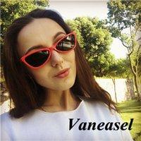 óculos de sol cruzados venda por atacado-Europeus e Americanos moda óculos de sol de gato 2019 novos óculos de sol femininos cross-border venda quente óculos de sol por atacado