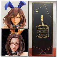 crianças sexy japonesas venda por atacado-Nativo 41 cm Japonês sexy anime figura Não Virgem coelho menina PVC Figuras de Ação brinquedos Anime figura Brinquedos Para Crianças crianças presentes