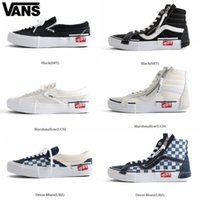 3df91d664c29a1 VANS Old Skool Slip-On Cap LX Men Women Skateboard Shoes Sk8-Hi Sports  Zipper Skate Womens Trainers Canvas Designer Sneakers 36-44
