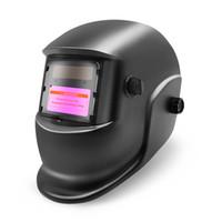 auto capacete de soldagem a arco venda por atacado-Máscara Hitbox Welding Cabeça do capacete capa protetora de Energia Solar Auto Escurecimento para Arc Mig Soldador TIG Plamsma cortador LY500A fogo Estilo
