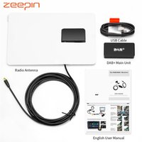 Wholesale car gps resale online - Universal DAB Receiver Antenna With USB Adapter Receiver For Android Car Player Applicable For Europe GPS