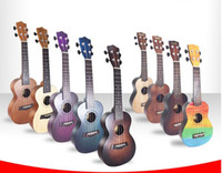 Wholesale 21 inch ukulele guitar for sale - Group buy Factory guitar inch wooden ukulele small guitar beginners getting started practicing musical instruments