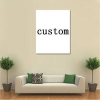 Wholesale custom photo canvas prints resale online - 5 Pieces Printed custom canvas painting wall art photo decor print poster framed wall art dropshipping