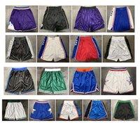 ingrosso corti blu stella-Alta qualità ! 2019 Pantaloncini da basket della squadra 1992 All Star Shorts Pantaloncini sportivi Pantaloni universitari Bianco Blu Rosso Viola Nero