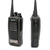 Wholesale walkie hyt resale online - 2 units HYT TC W Portable Two Way Radio with Li ion battery HYTERA TC620 UHF VHF Long range walkie talkie