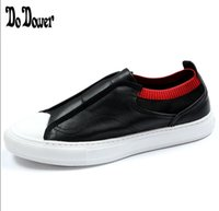 новый итальянский тапочки оптовых-2019 NEW men's fashion shoes Casual Genuine leather loafers  designer  Italian men shoes flats breathable slippers
