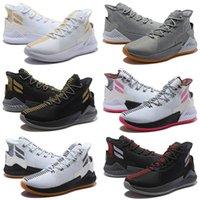 derrick rose neue schuhe großhandel-2019 New D Rose 9 Weißgold Kinder Herren Basketball Schuhe Herren Top Qualität Derrick Rose Schuhe 9 Sport Sneakers Designerschuhe