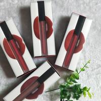 batom lipgloss venda por atacado-Beleza Marca Maquiagem 12 Cores Matte Batom Líquido Fosco lip gloss lipgloss rouge um levre maquillage DHL Frete Grátis