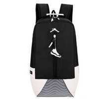 Wholesale knapsack bag for girls for sale - Group buy Best Quality AJ Jordam Knapsack Bagssoccer AJ PARIS Brand Bags For Man Women Girls And Fashion Recreational Sports Shoulder Backpack Bag