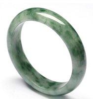 pulseiras de jade venda por atacado-Jade Jade autêntica natural A carga pulseira de cor esmeralda profundo flutuante Guizhou Cui pulseira pulseira tomada de fábrica