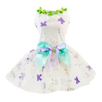 Wholesale dogs tutu clothes for sale - Group buy Pet Dogs Embroidered Skirts Clothes Pet Dog Tutu Dress Puppy Dog Princess Dresses for Small to Medium Dogs Apparel