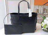 сумочки для ручек сцепления оптовых-5A верхнего качества M40932 31сма Neverfully MM Epi Leather Top Handle сумка Малый кошелек мешок сцепление с мешком для сбора пыли DHL Бесплатной доставки