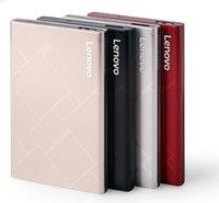 dizüstü bilgisayar sabit disk masaüstü toptan satış-Lenovo harici sabit disk 1 TB HDD USB 3.0 Externo Disko HD Disk Depolama Aygıtları için apple / lenovo / samsung Dizüstü Masaüstü PC