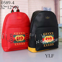 Wholesale female sport bags resale online - HOT In stock signature backpack luxury men and women bag sports fashion famous designer backpack female travel bag