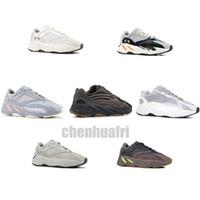 new box shoes toptan satış-700 V2 Atalet Dalga Koşucu Erkek Kadın Tasarımcı Sneakers Yeni Statik Leylak Kutusu Ile En Kaliteli Kanye West Spor Ayakkabı 5-12