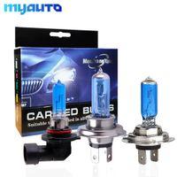 Wholesale h8 55w bulb resale online - 2PCS H1 H3 H4 H11 H7 H8 W W Halogen Headlight Bulb V HB3 HB4 W Auto Fog Light White Car Lamp DRL