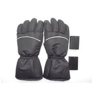ingrosso guanti impermeabili in nylon-Guanti Riscaldati Sport Invernali Fun Outdoor Guanto Antivento Impermeabile Ciclismo Guanti da Moto Guanti Moto ZZA570
