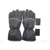 Wholesale fun outdoor sports resale online - Winter Outdoor Fun Sports Heated Glove Windproof Waterproof Ski Cycling Warm Riding Motorcycle Bicycle Gloves ZZA570
