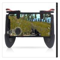 quadriciclo wltoys venda por atacado-Jogo Gamepad móvel Lidar Com 4 Portas para Hubsan X4 H107 Quadcopter Para Wltoys Para Syma X5C / UDI U816 Joystick Disparador de Incêndio