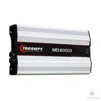 ingrosso amplificatore di alta classe-Taramps MD 8000 1 Ohm Amplifier MD8000 HD8000 8K Watts 8000.1 Amp Consegna in 3 giorni