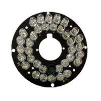 tablero infrarrojo al por mayor-2PCS / Lot Infrared 36 IR LED Light Board para cámaras de seguridad CCTV Visión nocturna (diámetro 57mm)
