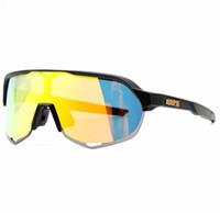gafas de sol de bicicleta uv al por mayor-2019 NUEVA Marca 3 Lens Speedcraft SL Speedtrap Gafas de ciclismo Bicicletas Ciclismo Gafas de sol bicicleta Gafas ciclismo Sport Bike Ciclismo 100% UV