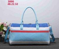 Wholesale travel bag models resale online - Designer Luxury Handbags Purses Leisure Travel Bag Color Collision Recent Models Designer Handbags Stripe Casual Inclined Shoulder Bag HotZ