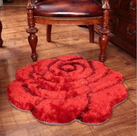Wholesale livingroom rugs resale online - 3D Rose Carpet Modern Carpet For Livingroom and Area Rug of Bathroom Bedroom Carpets Floor Office Mat Tapetes