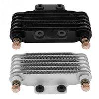 ölkühler großhandel-85ml Ölkühler Motoröl Cooling Kit Kühlersystem für GY6 100CC-150CC Motor Kühler New Arive