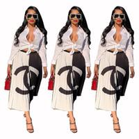 línea de estilo de moda al por mayor-Envío gratis 2019 Nueva llegada Impresión de moda Falda plisada de alta elasticidad Estilo de calle alta Una línea de faldas a media pierna XXL