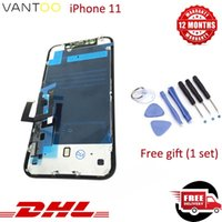 Wholesale repair digitizer screen resale online - New Original For iPhone LCD Display High Brightness Touch Digitizer Complete Screen Full Assembly Replacement for iPhone Screen Repair