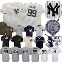 ny trikots großhandel-NY Custom Yankees Trikot Didi Gregorius Aaron Richter Edwin Encarnacion Gary Sanchez DJ LeMahieu Gleyber Torres Gio Urshela Luke Voit Sabathia