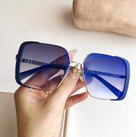 очки с синей линзой оптовых-голубые линзы очки мужчин роскошный дизайн солнцезащитные очки женщин люксовый бренд солнцезащитных очков мужчин мужские очки Gafas де золь люнеты де Солей 4133